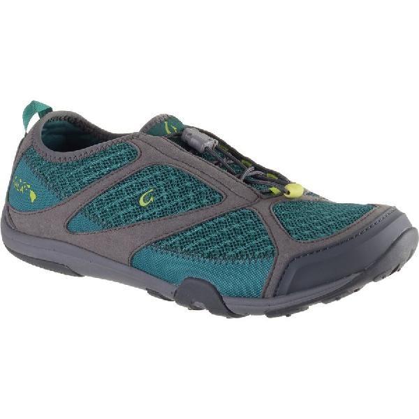 (取寄)オルカイ レディース 'Eleuトレーナー ウォーター シューズ Olukai Women 'Eleu Trainer Water Shoe Sea Green/Charcoal