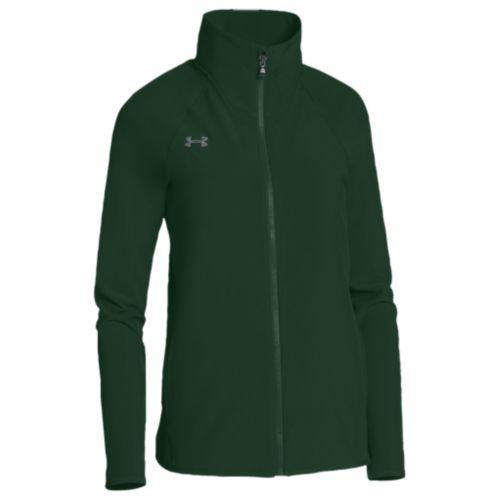 (取寄)アンダーアーマー レディース チーム スクウォッド ウーブン ジャケット Under Armour Women's Team Squad Woven Jacket Green Steel