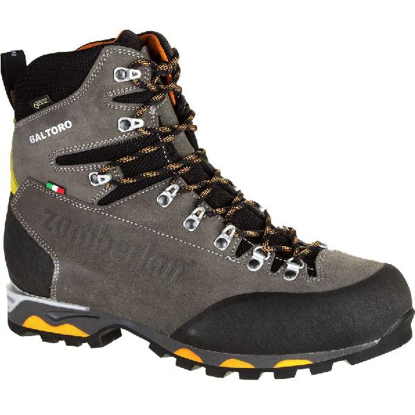 (取寄)ザンバラン メンズ バルトロ GTX RR バックパッキング ブーツ Zamberlan Men's Baltoro GTX RR Backpacking Boot Graphite/Orange【outdoor_d19】
