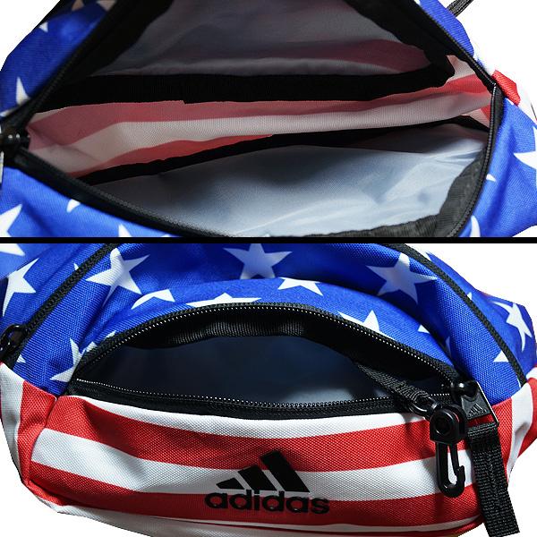 11352e673354 Adidas bag bum-bag body bag Rand 2 Waist Pack Americana White Star-Spangled  Banner USA