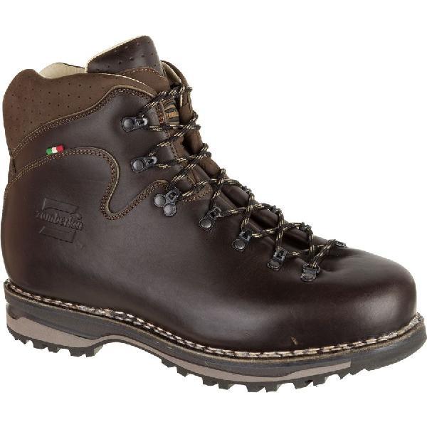 【クーポンで最大2000円OFF】(取寄)ザンバラン メンズ ラテマール NW バックパッキング ブーツ ハイカット 登山靴 Zamberlan Men's Latemar NW Backpacking Boot Waxed Dark Brown