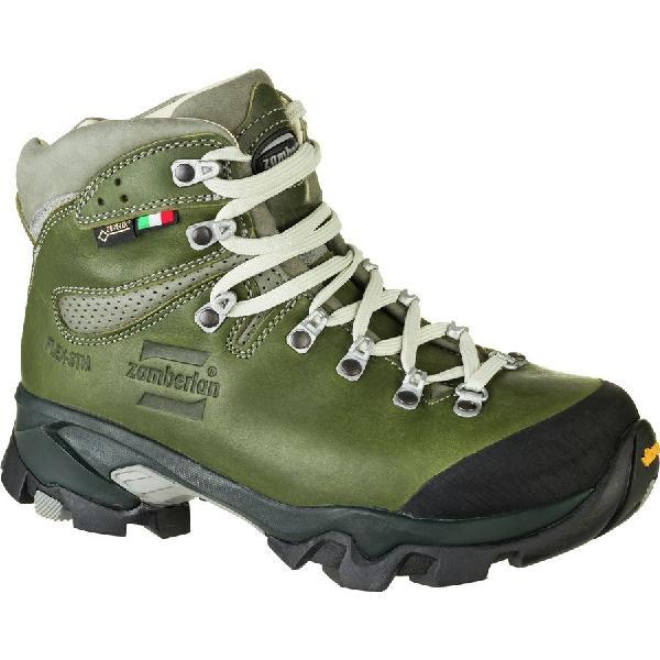 (取寄)ザンバラン レディース ヴィオツ ラックス GTX RR バックパッキング ブーツ Zamberlan Women Vioz Lux GTX RR Backpacking Boot Waxed Green【outdoor_d19】