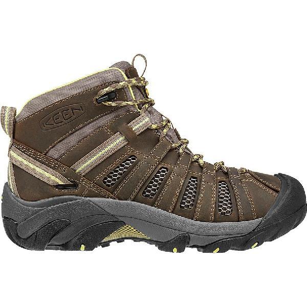 (取寄)キーン レディース ボイジャー ミッド ハイキング ブーツ KEEN Women Voyageur Mid Hiking Boot Brindle/Custard