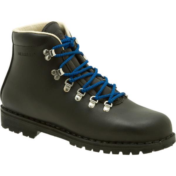 (取寄)メレル メンズ ウェルダネス USA バックパッキング ブーツ Merrell Men's Wilderness USA Backpacking Boot Black【outdoor_d19】
