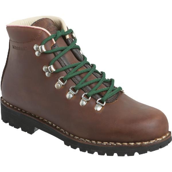 (取寄)メレル メンズ ウェルダネス USA バックパッキング ブーツ Merrell Men's Wilderness USA Backpacking Boot Mogano【outdoor_d19】