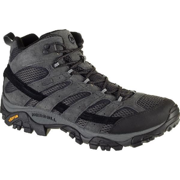 (取寄)メレル メンズ モアブ 2 ミッド ハイキング ブーツ Merrell Men's Moab 2 Mid Hiking Boot Granite【outdoor_d19】