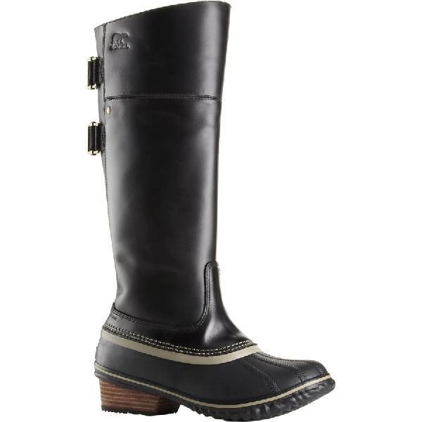 (取寄)ソレル レディース スリムパック ライディング トール 2 ブーツ Sorel Women Slimpack Riding Tall II Boot Black/Kettle