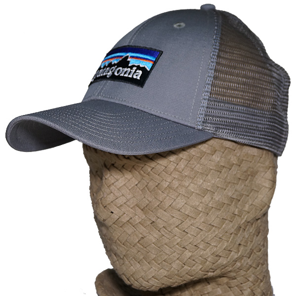 fa5546831a0 Patagonia P6 logo rope lot lacquer hat Patagonia P-6 LoPro Trucker Hat  Forge Grey gray