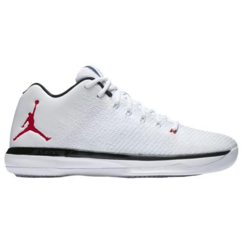 (取寄)ジョーダン メンズ バッシュ AJ XXXI ロー バスケットシューズ Jordan Men's AJ XXXI Low White University Red Black