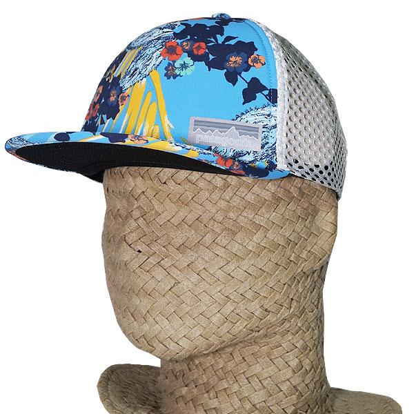 b9ab81d9 Patagonia logo mesh cap duck building trucker hat Patagonia Duckbill Trucker  Hat Kelp Garden/Radar ...