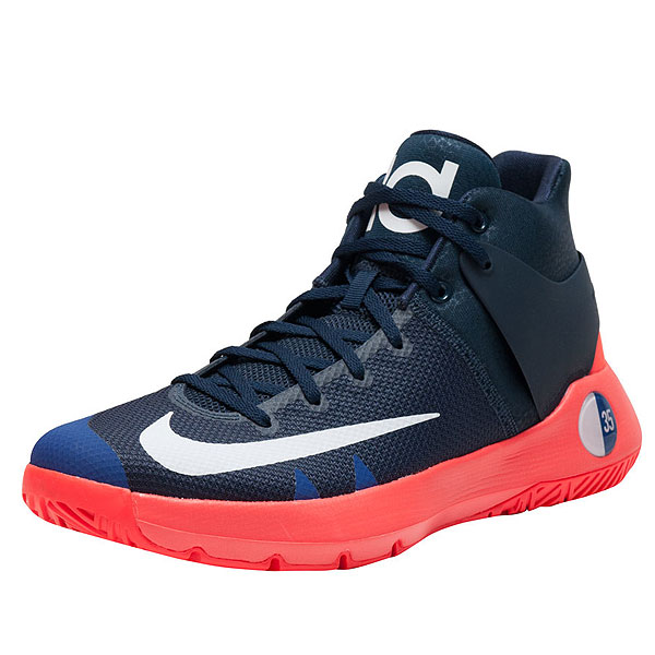 f16e5bdf6246 NIKE Nike men basketball shoes KD tray 5 4 basketball shoes Kevin Durant  Nike Men s KD Trey 5 IV Obsidian White Bright Crimson Deep Royal Blue
