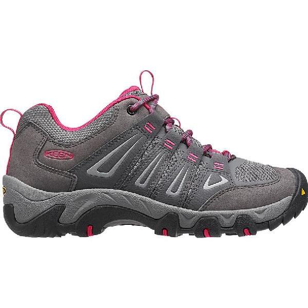 (取寄)キーン レディース オークリッジ ハイキング シューズ ハイキングシューズ KEEN Women Oakridge Hiking Shoe Magnet/Rose