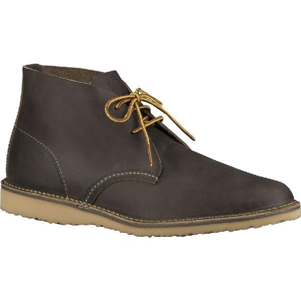 (取寄)レッドウィング メンズ ヘリテイジ ウィークエンダー チャッカ シューズ Red Wing Men's Heritage Weekender Chukka Shoe Concrete Rough & Tough Leather