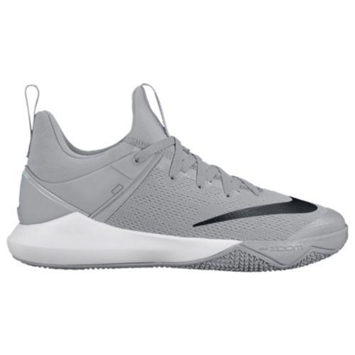 (取寄)Nike ナイキ メンズ ズーム シフト バスケットシューズ スニーカー Nike Men's Zoom Shift Wolf Grey Black White