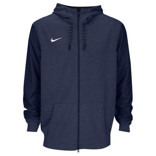 (取寄)Nike ナイキ メンズ パーカー チーム サイドライン フルジップ トラベル フーディ Nike Men's Team Sideline Full-Zip Travel Hoodie College Navy White