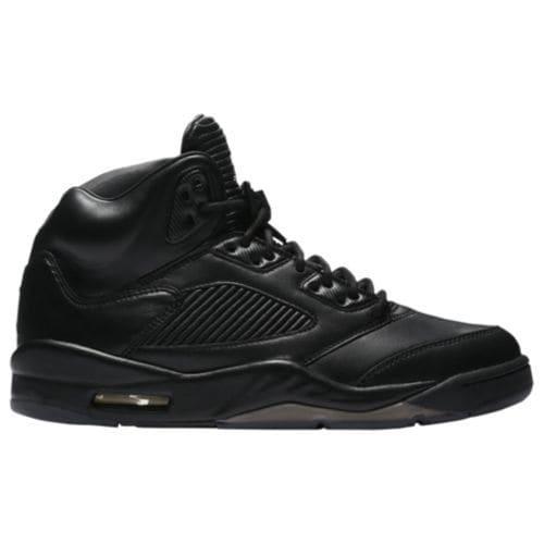 (取寄)ジョーダン メンズ レトロ 5 プレミアム スニーカー Jordan Men's Retro 5 Premium Black Black