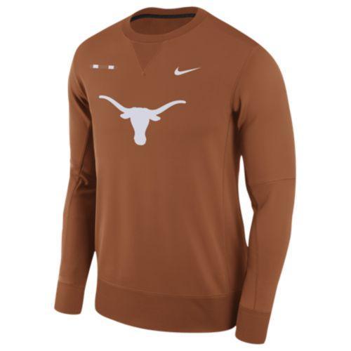 (取寄)Nike ナイキ メンズ トレーナー カレッジ チーム サイドライン クルー Nike Men's College Team Sideline Crew Dark Orange