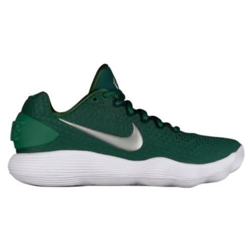 71306b2f924f SWEETRAG Rakuten Ichiba Shop  (order) Nike lady pickpocket act hyper dunk 2017  low Nike Women s React Hyperdunk 2017 Low Gorge Green Metallic Silver White  ...