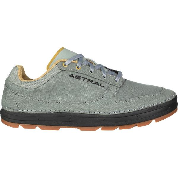 (取寄)アストラル メンズ ドナー ヘンプ シューズ Astral Men's Donner Hemp Shoe Gray/Black