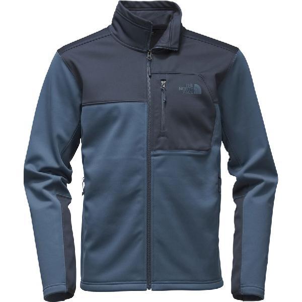 (取寄)ノースフェイス メンズ アペックス リソル ソフトシェル ジャケット The North Face Men's Apex Risor Softshell Jacket Shady Blue/Urban Navy