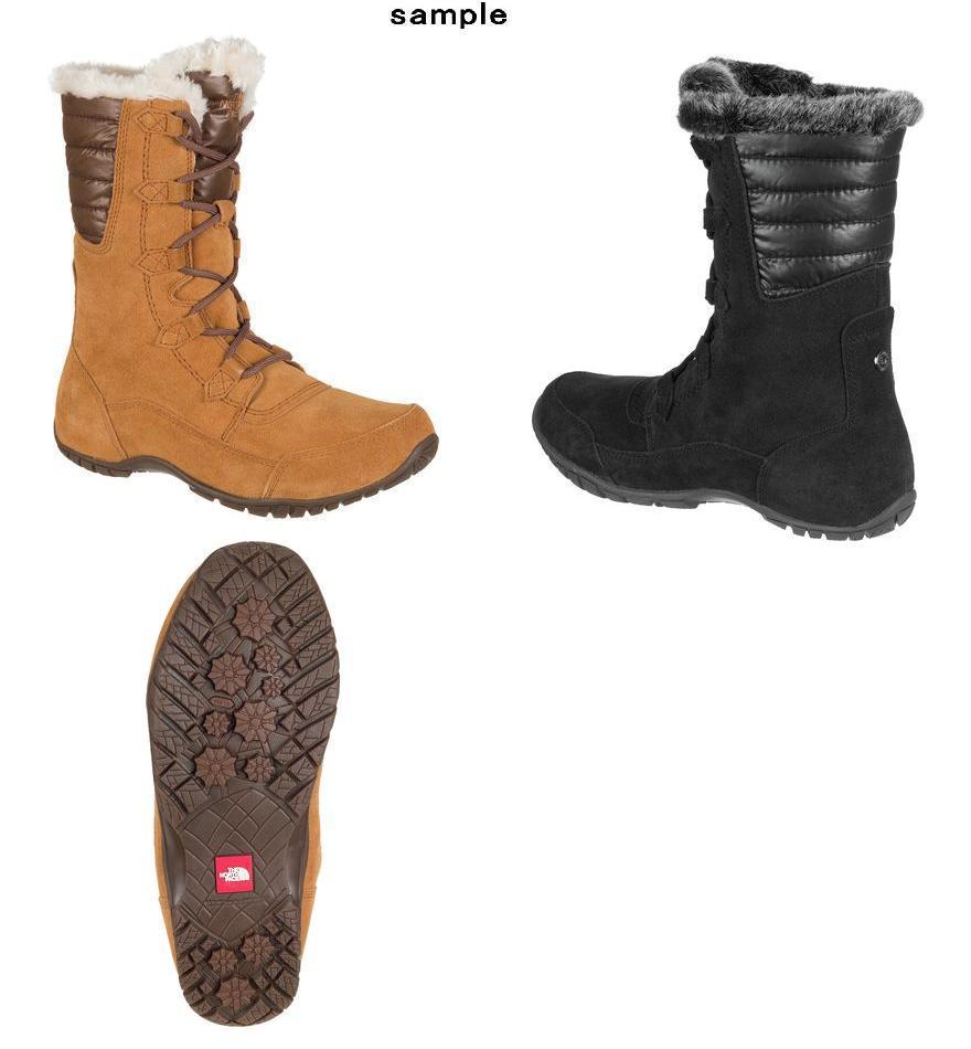 (order) ノースフェイスレディースヌプシプルナ 2 boots The North Face Women Nuptse Purna II  Boot Tnf Black Beluga Grey ace3a60a9