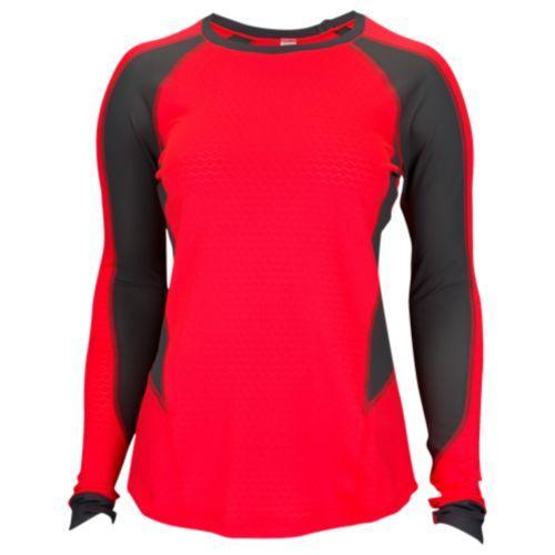 (取寄)アンダーアーマー レディース リアクター ラン ロング スリーブ トップ Under Armour Women's Reactor Run Long Sleeve Top Marathon Red Rhino Gray Reflective