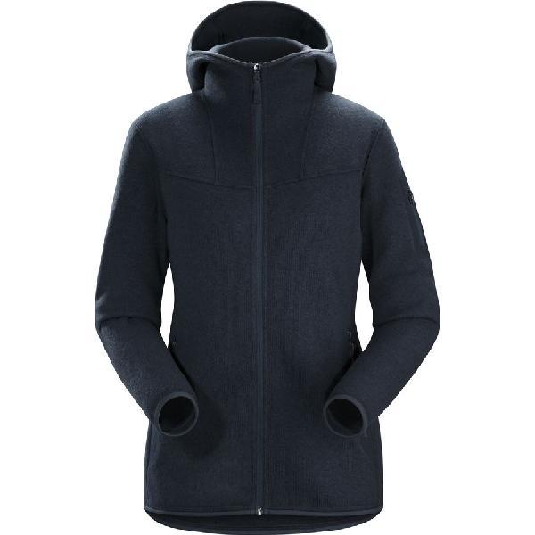 (取寄)アークテリクス レディース コバート フーデッド フリース ジャケット Arc'teryx Women Covert Hooded Fleece Jacket Black Sapphire