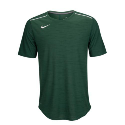 (取寄)Nike ナイキ メンズ チーム サイドライン ブリーズ ショートスリーブ ポリー トップ Tシャツ Nike Men's Team Sideline Breathe S/S Poly Top Gorge Green White