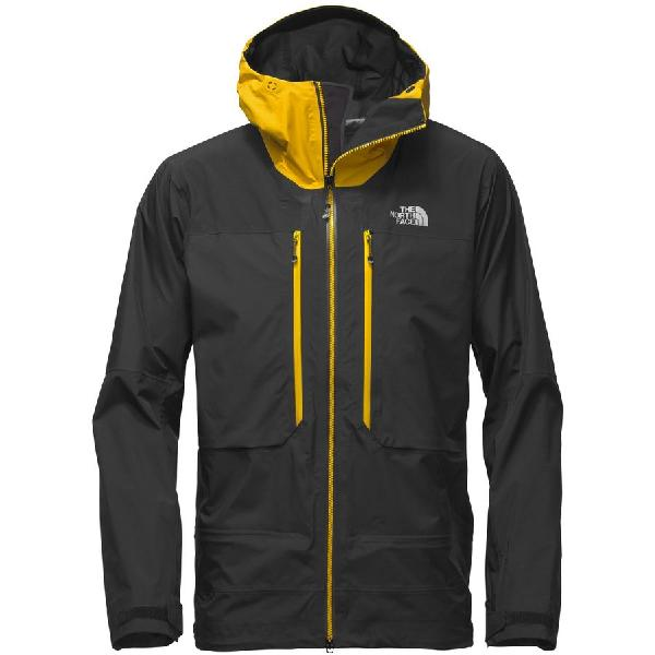 (取寄)ノースフェイス メンズ サミット L5GTX プロ ジャケット The North Face Men's Summit L5 GTX Pro Jacket Tnf Black/Canary Yellow