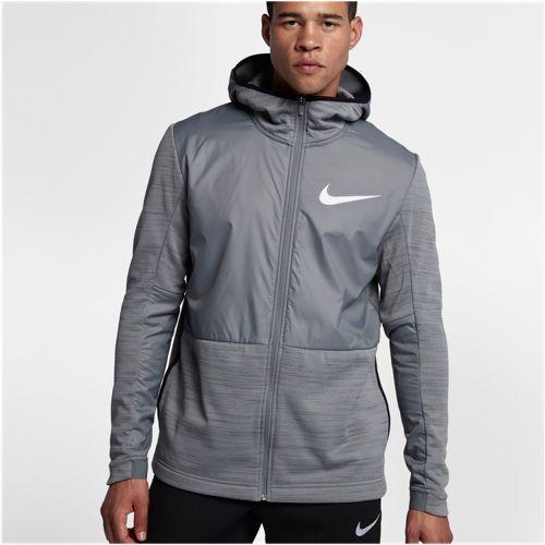 (取寄)Nike ナイキ メンズ パーカー ウィンターライズド F/Z フーディ Nike Men's Winterized F/Z Hoodie Dark Grey Cool Grey White