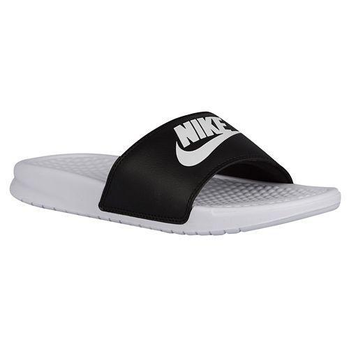 Nike Benassi Scivolare Scarpe Da Ginnastica Bianche Delle Donne pXgsspDk
