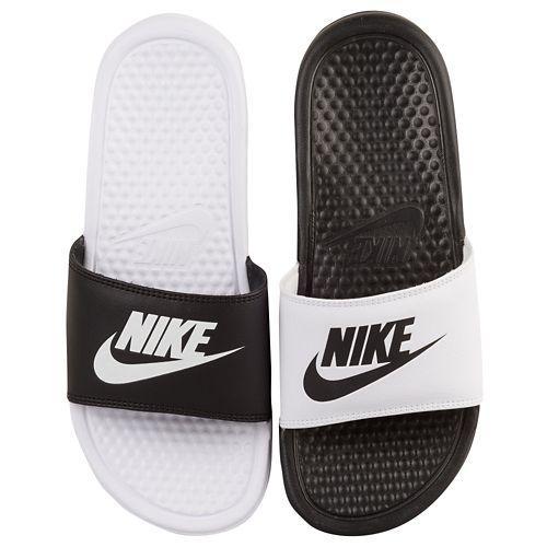 Nike Benassi Deslice Zapatillas De Deporte Blancas De Las Mujeres 14Eb4nwmjR