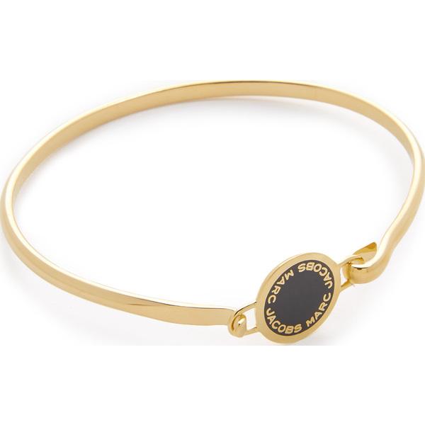 マークジェイコブス エナメル ロゴ ディスク ヒンジ ブレスレット Marc Jacobs Enamel Logo Disc Hinge Bracelet 【コンビニ受取対応商品】