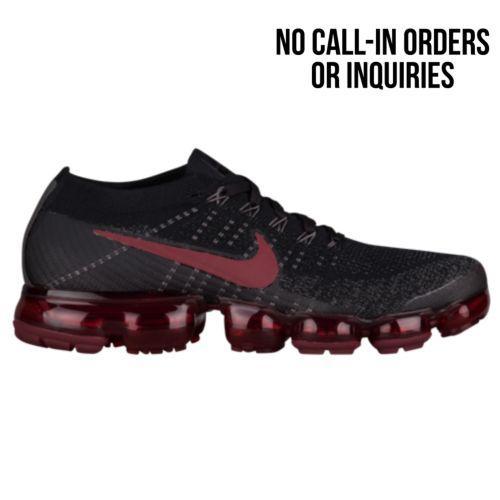 (取寄)ナイキ メンズ スニーカー エア ヴェイパーマックス フライニット Nike Men's Air VaporMax Flyknit Black Dark Team Red Midnight Fog
