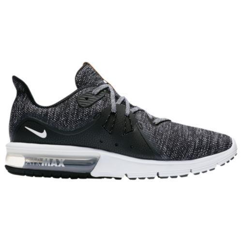 (取寄)ナイキ メンズ エア マックス シークエント 3 ランニングシューズ スニーカー Nike Men's Air Max Sequent 3 Black White Dark Grey