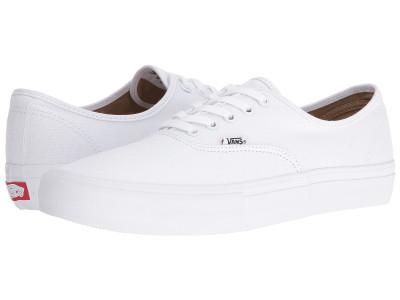 (取寄)バンズ メンズ スニーカー オーセンティック プロ Vans Men's Authentic Pro True White/True White