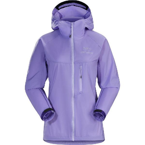 (取寄)アークテリクス レディース スカーミッシュ フーデッド ジャケット Arc'teryx Women Squamish Hooded Jacket Hyacinth