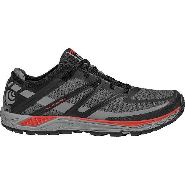 (取寄)トポアスレチック メンズ ランベンチャーズ 2 トレイル ランニングシューズ Topo Athletic Men's Runventure 2 Trail Running Shoe Grey/Red