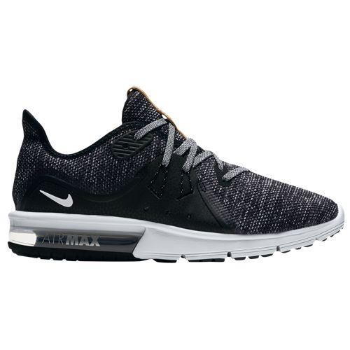 (取寄)ナイキ レディース エア マックス シークエント 3 ランニングシューズ スニーカー Nike Women's Air Max Sequent 3 Black White Dark Grey
