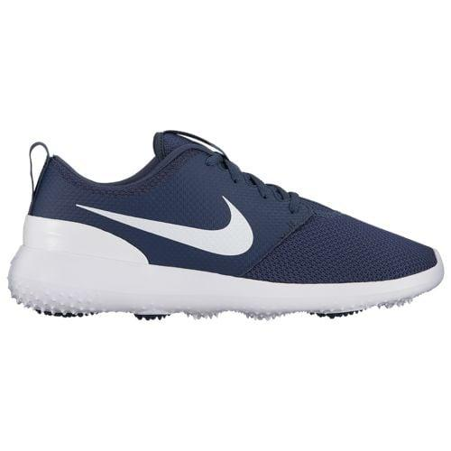 (取寄)ナイキ メンズ ローシ G ゴルフシューズ Nike Men's Roshe G Golf Shoes Thunder Blue White【outdoor_d19】