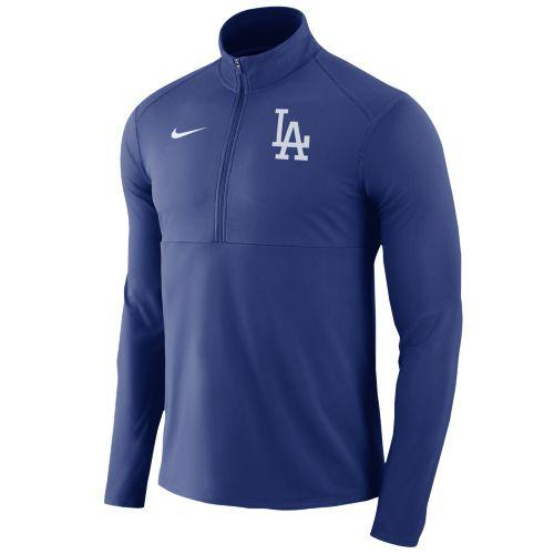 SWEETRAG Rakuten Ichiba Shop  (order) Nike men MLB training suit half zip  game element 1 2 zip top loss Angels Dodgers Nike Men s MLB Game Element  1 2 Zip ... f18bdf8ee92