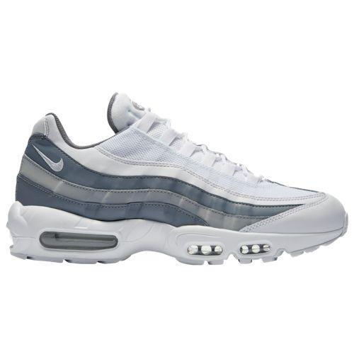 (取寄)ナイキ メンズ エア マックス 95 スニーカー Nike Men's Air Max 95 White White Cool Grey Wolf Grey