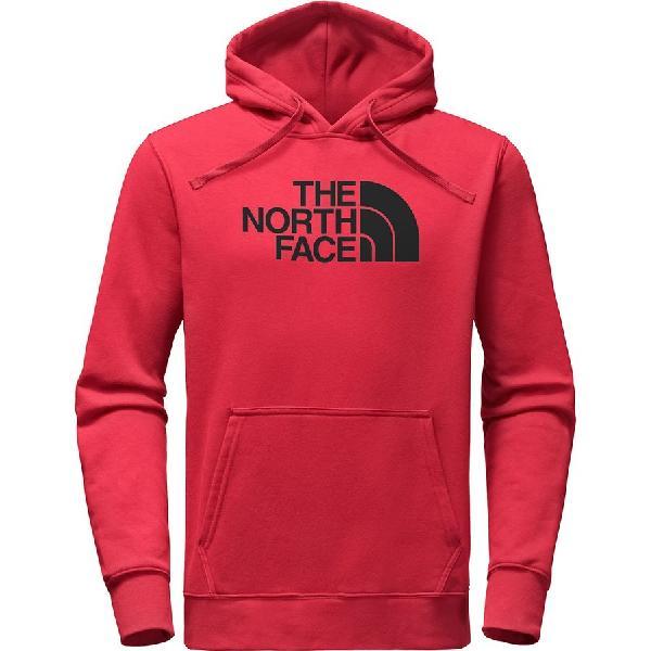 (取寄)ノースフェイス メンズ ハーフ ドーム プルオーバー パーカー The North Face Men's Half Dome Hoodie Pullover Tnf Red/Tnf Black