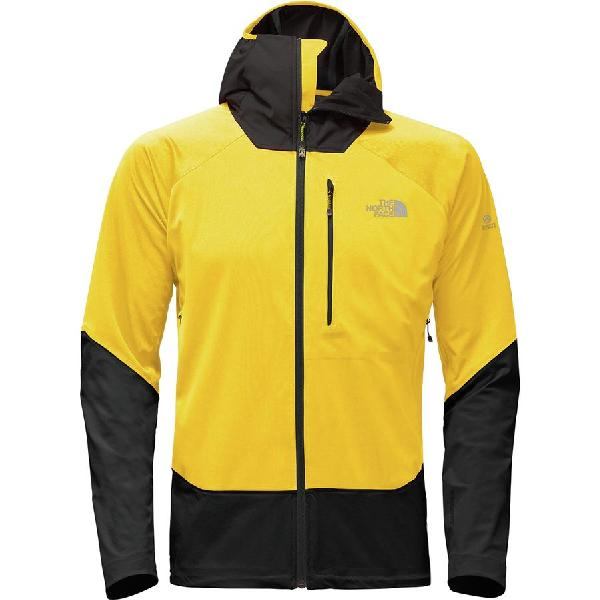 (取寄)ノースフェイス メンズ サミット L4ウィンドストッパー ソフトシェル ジャケット The North Face Men's Summit L4 Windstopper Softshell Jacket Canary Yellow/Tnf Black