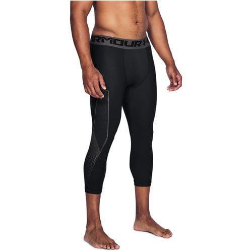 (取寄)アンダーアーマー メンズ ヒートギア 3/4 グラフィック コンプレッション タイツ 2.0 Under Armour Men's HeatGear 3/4 Graphic Compression Tight 2.0 Black Charcoal