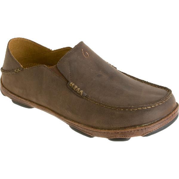 (取寄)オルカイ メンズ Moloa シューズ Olukai Men's Moloa Shoe Dark Wood/Dark Java 【コンビニ受取対応商品】