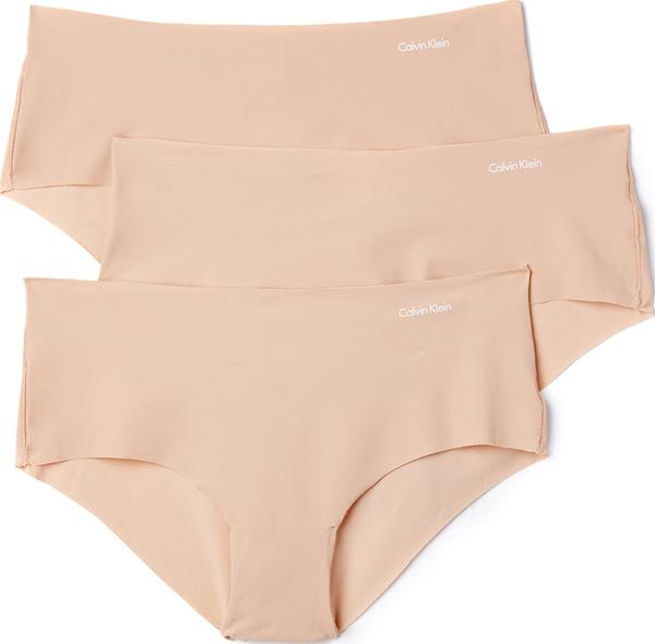 (取寄)Calvin Klein Underwear Women's Invisibles Hipster 3 Pack カルバンクライン アンダーウェア レディース インビジブル ヒップスター 3 パック Light Caramel