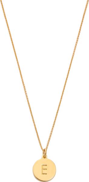 (取寄)Kate Spade New York Letter Pendant Necklace ケイトスペード レター ペンダント ネックレス E