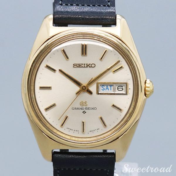 【SEIKO/セイコー】GRAND SEIKO/グランドセイコー/Ref.6146-8000/61GS/セイコースタイル/GFケース/Cal.6146A/1967年製/w-20963