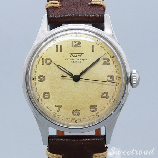 【TISSOT/ティソ】ANTIMAGNETIQUE/FAB.SUISSE/Cal.27-27/1940年代/w-20741